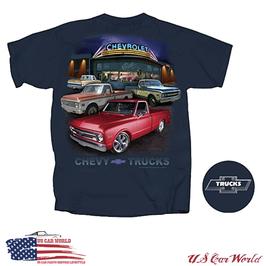 Chevrolet T-Shirt - Chevy Trucks Motiv - Chevy Bowtie