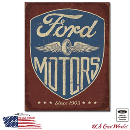 """Ford Blechschild """"Ford since 1903"""""""