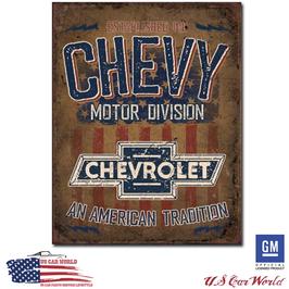"Chevrolet Blechschild ""American Tradition"""