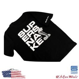 Shelby T-Shirt - Shelby Super Snake Logo - Schwarz - lizensiert