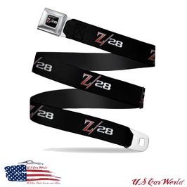 Camaro Gürtel Sicherheitsgurt mit Z28 Logo Print