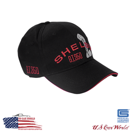 Shelby GT350 Basecap - Schwarz/Rot