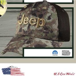 Jeep Basecap - Jeep Logo - Tactical Camo - Oliv / Grün