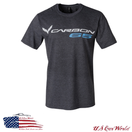 Corvette C7 Carbon 65 T-Shirt - Dunkelgrau - limited Edition