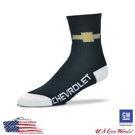 Chevrolet Socken mit Chevy Bowite & Chevrolet Schriftzug - Schwarz