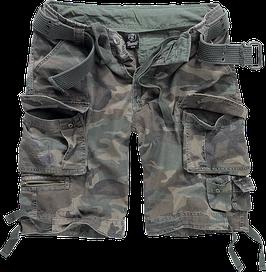 Brandit Savage Shorts - Cargo Shorts - Woodland (10)