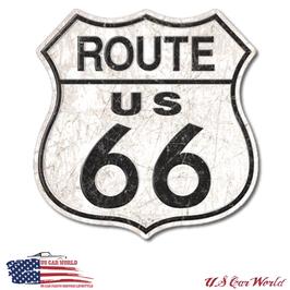 "Blechschild ""Route 66"" - Big Size"