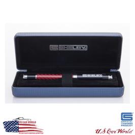 Shelby Cobra Kugelschreiber - Rollerball Pen - Carbon - Rot