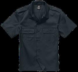 Brandit US Shirt Shortsleeve - Freizeithemd - Black (2)