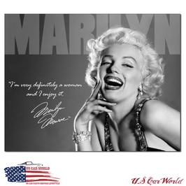 """Blechschild """"Marilyn Monroe - Definately """""""
