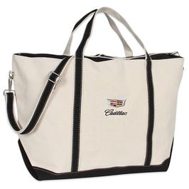"""Cadillac """"Segeltasche"""" - Reisetasche - Tragetasche - Cadillac Classic Logo - lizensiert"""