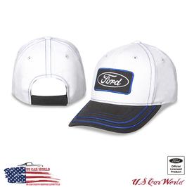 Ford Basecap Classic Logo - Ford Oval Logo - Beige/Grau