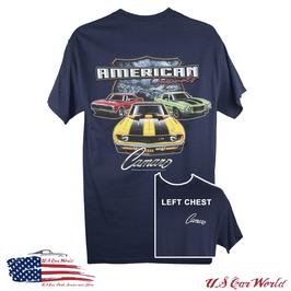 Camaro T-Shirt - American Originals - Vintage Camaro - Marine - SALE