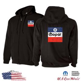 MOPAR Hoody - MOPAR Kapuzenjacke mit MOPAR Logo Print