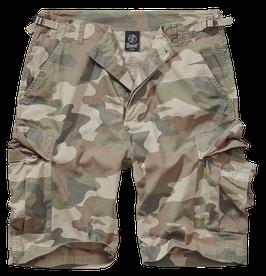 Brandit BDU Ripstop Shorts - Cargo Shorts - Light Woodland (107)