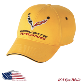 Corvette C7 Racing Basecap - Gelb