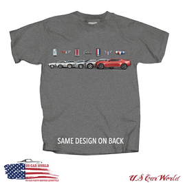 Chevrolet Camaro T-Shirt - Camaro Band Collage - Camaro Thru The Years