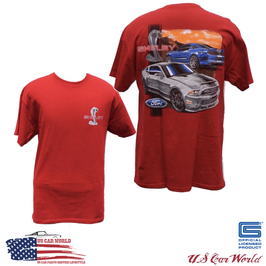 Shelby GT500 Super Snake T-Shirt - Rot