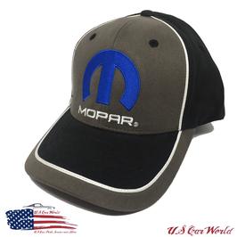 Mopar Basecap - Mopar Logo Cap - Two Tone Optik - Schwarz/Grau