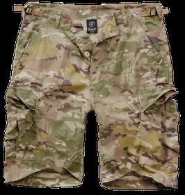 Brandit BDU Ripstop Shorts - Cargo Shorts - Tactical Camo (161)