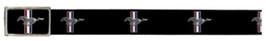 Ford Mustang Stoffgürtel mit hochglänzender Schnalle - Tribar Print