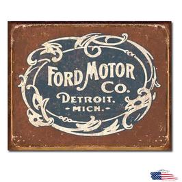 """#1707 - Ford Blechschild """"Historic Logo"""""""