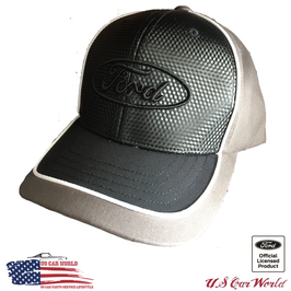 Ford Basecap - Ford Oval Logo - Ford Classic Logo - Carbon Optik