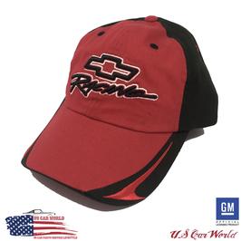 Chevrolet Racing Basecap mit Bowtie - Schwarz/Rot - SALE