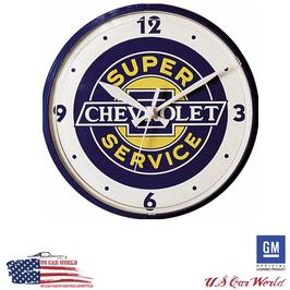 Chevrolet Uhr - Super Chevy Service Uhr