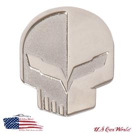 Corvette Label Pin - Corvette Jake Head Pin