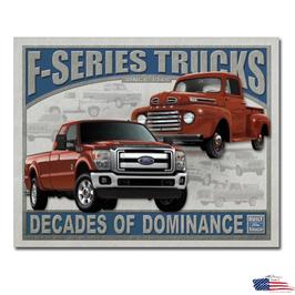 "#1708 - Ford Blechschild ""F-Series Trucks"""