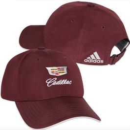 Cadillac Classic Basecap mit Cadillac Logo von Adidas Performance - Bordeaux