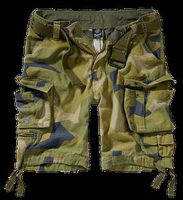 Brandit Savage Shorts - Cargo Shorts - Swedisch Camo M90 (125)