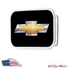 Chevrolet Buckle - Gürtelschnalle - Chevy Bwotie Black/Gold