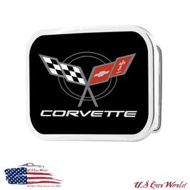 Corvette C5 Buckle Gürtelschnalle Glänzend - Rot