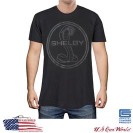Shelby T-Shirt - Shelby Vintage Logo - Shelby Logo - Schwarz