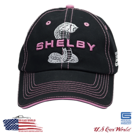 Shelby Basecap - Shelby Super Snake Basecap - Ladies - Schwarz / Pink