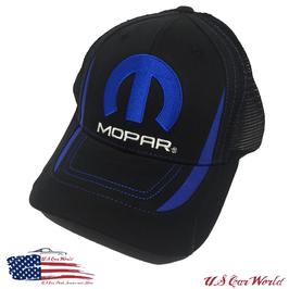 Mopar Basecap - Mopar Logo Cap - Two Tone Optik - Schwarz/Blau