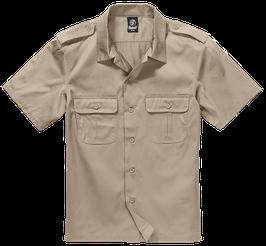 Brandit US Shirt Shortsleeve - Freizeithemd - Beige (3)