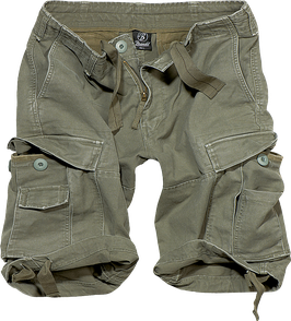 Brandit Vintage Classic Shorts - Cargo Shorts - Oliv (1)