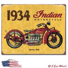 """Blechschild """"1934 Indian"""""""