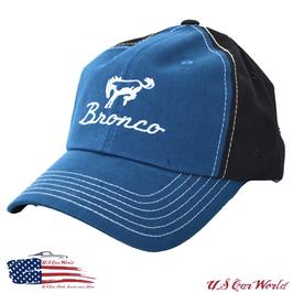 Ford Bronco Basecap - Ford Bronco Logo - Two Tone - Blau