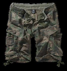Brandit Vintage Classic Shorts - Cargo Shorts - Woodland (10)