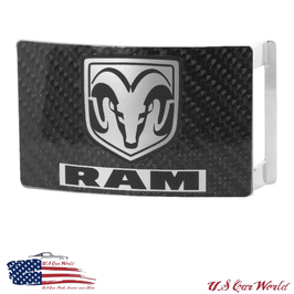 Dodge RAM Buckle - Gürtelschnalle - Carbon Optik