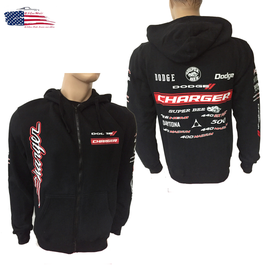 Dodge Charger Kapuzenjacke - Dodge Charger Hoodie - SRT HEMI - Super Bee