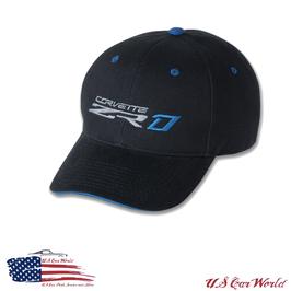 Corvette ZR1 Basecap - Schwarz / Blau - Limitierte Edition