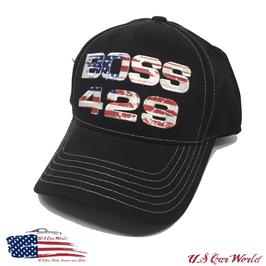 Ford Mustang Basecap - Mustang Boss 429 - Schwarz/USA