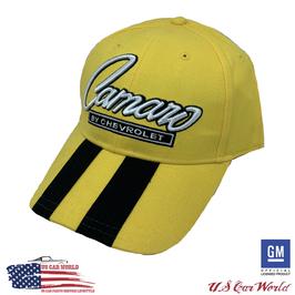 Camaro Basecap - Camaro Classic Logo - Bumble Bee Optil - Gelb/Schwarz