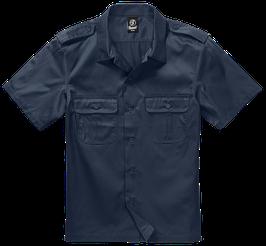 Brandit US Shirt Shortsleeve - Freizeithemd - Navy (8)