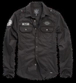 Brandit Luis Vintageshirt - Freizeithemd - Schwarz (2)